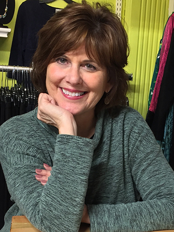 Linda Warburton proprietor Herlihy's Women's Clothing Boutique